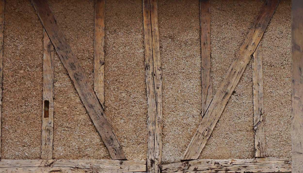 chanvre pan de bois
